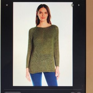 American Apparel Tunic Open Knit Stitch Sweater